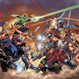 DC anuncia crossover entre Os Novos 52 e He-Man!