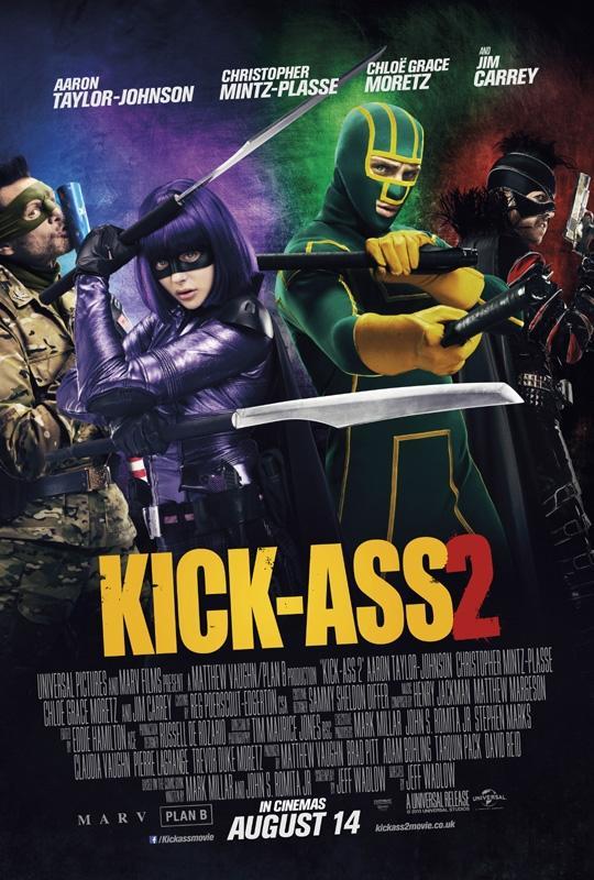 New Kick-Ass 2 poster