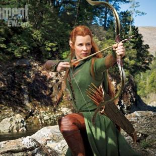 Essa é a primeira imagem de Evangeline Lilly em O Hobbit: A Desolação de Smaug