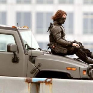 Novas imagens mostram o Soldado Invernal nos sets de Capitão América 2
