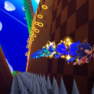 E essa é a jogabilidade de Sonic: Lost World