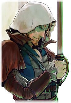 Edward Kenway Manga