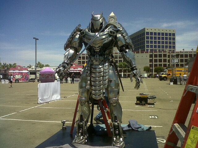Silver Samurai 01