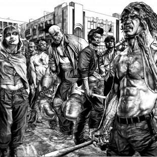Sai a primeira imagem da série Suiciders, de Lee Bermejo