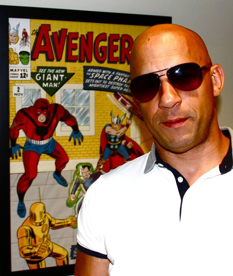 Vin Diesel na Marvel