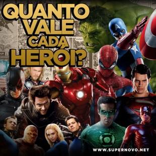 Quanto vale o tempo de tela de cada super-herói nos cinemas?