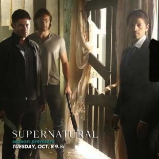 Essa é a primeira imagem oficial da 9ª temporada de Supernatural