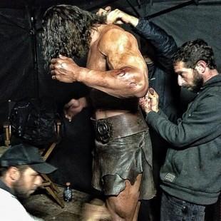 The Rock divulga outra foto de Hercules: The Thracian Wars