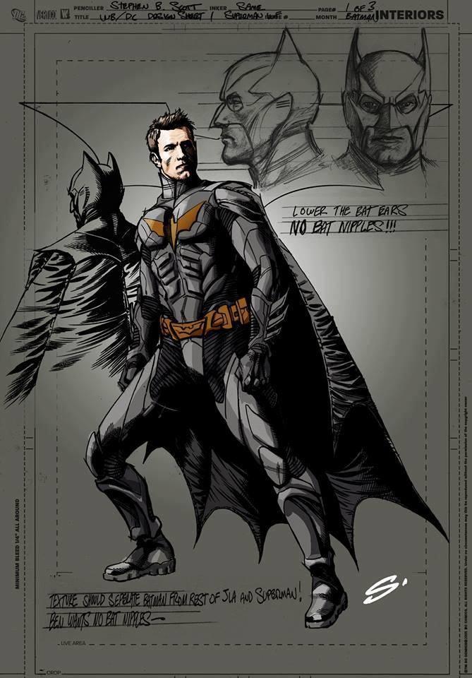 Batfleck artwork
