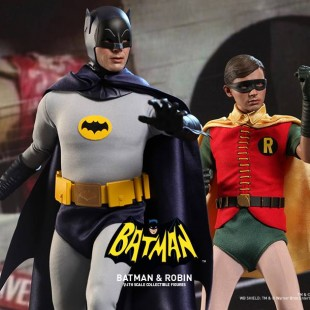 O Batman e o Robin da série de TV dos anos 60 ganham action figures da Hot Toys!