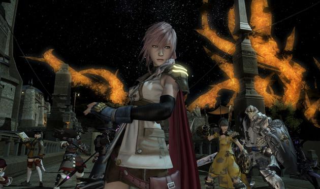 Lightning Final Fantasy XIV 01