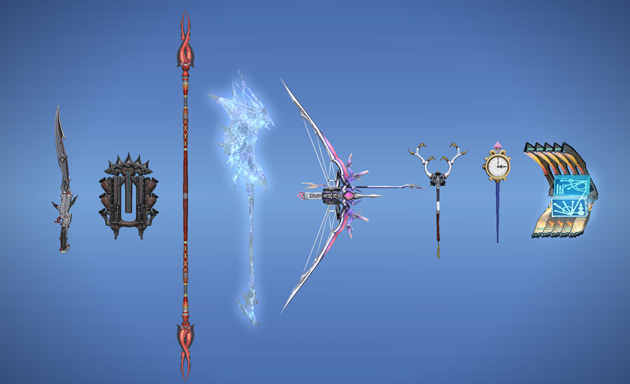 Armas da Lightning em Final Fantasy XIV