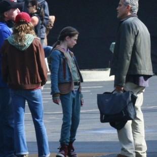 Saem as primeiras fotos dos sets de Tomorrowland, com George Clooney