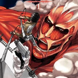 Panini divulga capa, título e logotipo do mangá de Shingeki no Kyojin