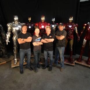 Veja como foram construídas as armaduras de Homem de Ferro 3