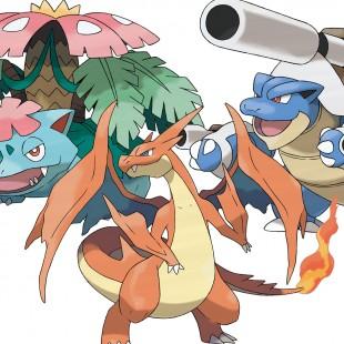 Iniciais originais estarão disponíveis (com mega-formas!) em Pokémon X e Y!