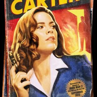 Hayley Atwell diz que topa protagonizar uma série de TV da Peggy Carter