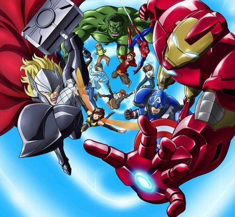 Avengers Anime