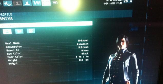 Batman Arkham Origin Lady Shiva