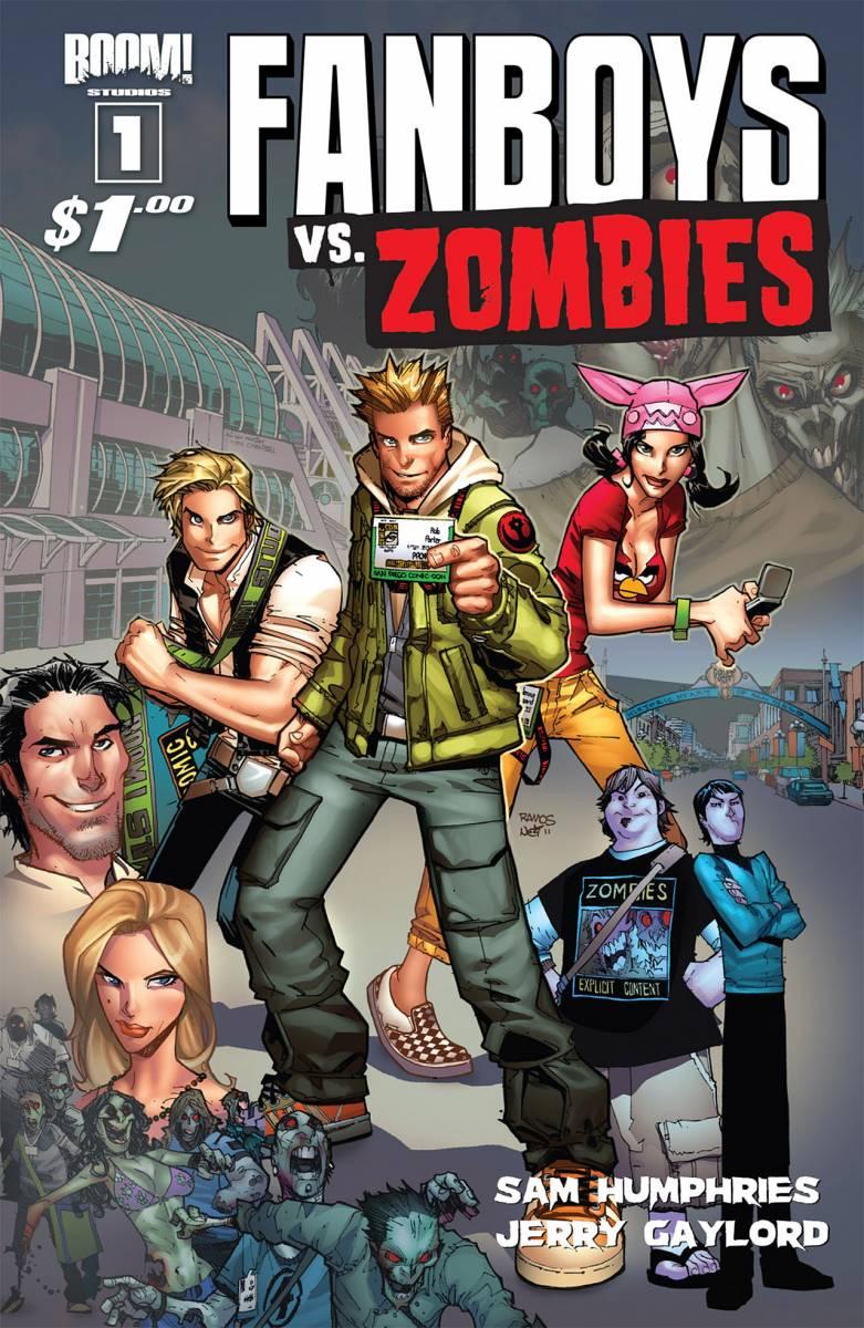 Fanboys vs. Zombies, uma das HQs mais vendidas da Boom!