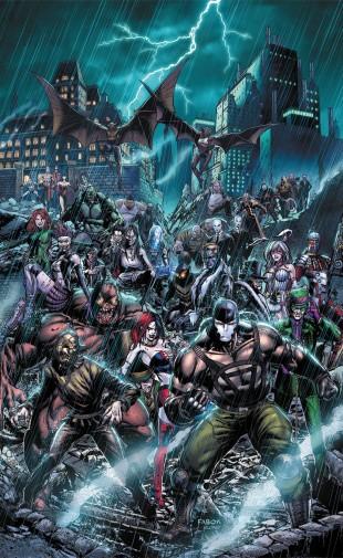 Kabooom Forever Evil Arkham War 1