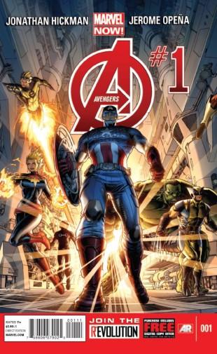 marvel now avengers