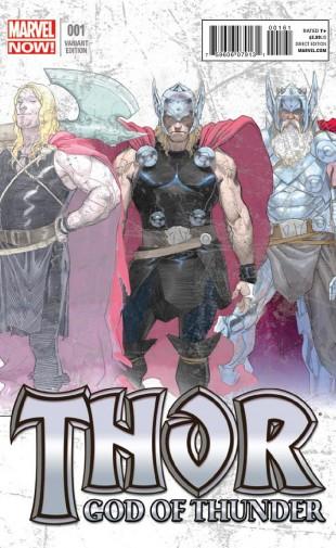 marvel now thor god of thunder