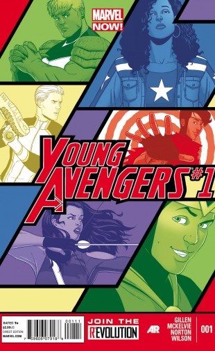 marvel now young avengers