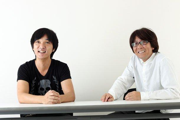 Kunikazu Toda à esquerda e Youichi Takahashi à direita