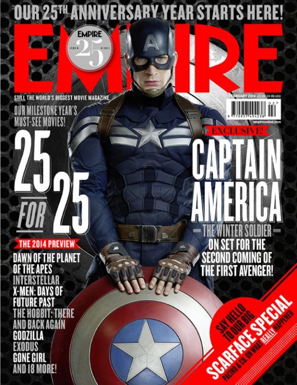 Capa Normal da Empire de Janeiro/2014