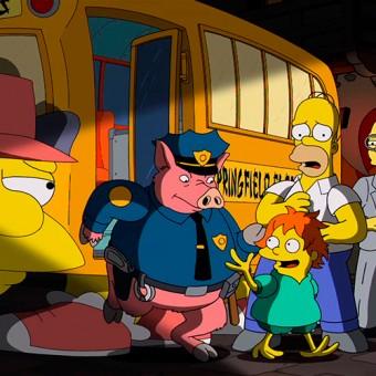 Os Simpsons presta uma homenagem à Hayao Miyazaki