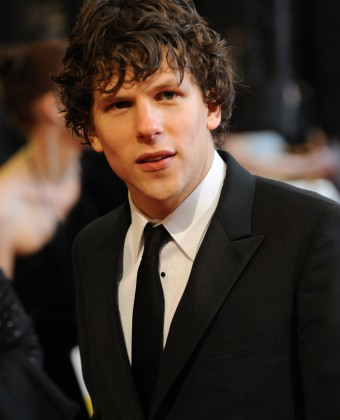 Jesse Eisenberg arrives at the 83rd annual Academy Awards in Hollywood