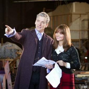 Primeira imagem oficial de Peter Capaldi como Doctor Who na 8ª temporada
