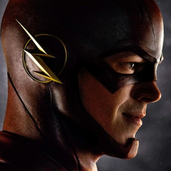 Essa é a primeira imagem de parte do uniforme do Flash na TV