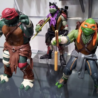 Nova imagem revela mais detalhes do visual das Tartarugas Ninja