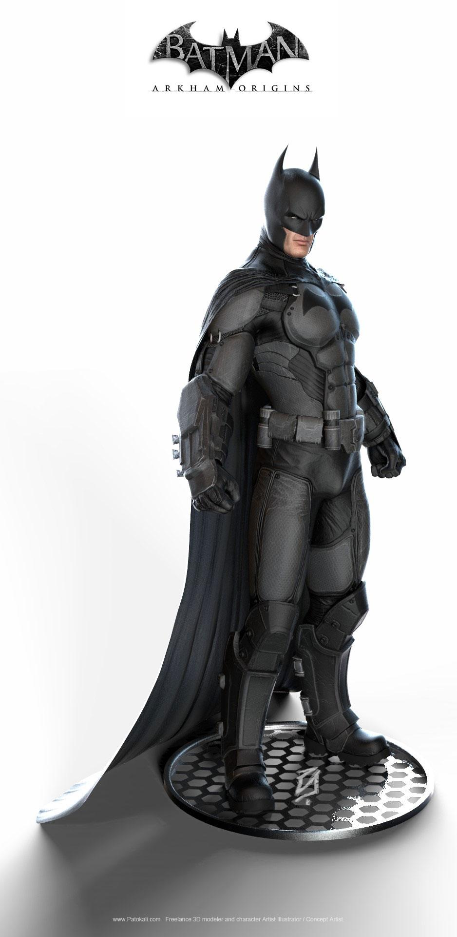 Batman arkham origins boneco