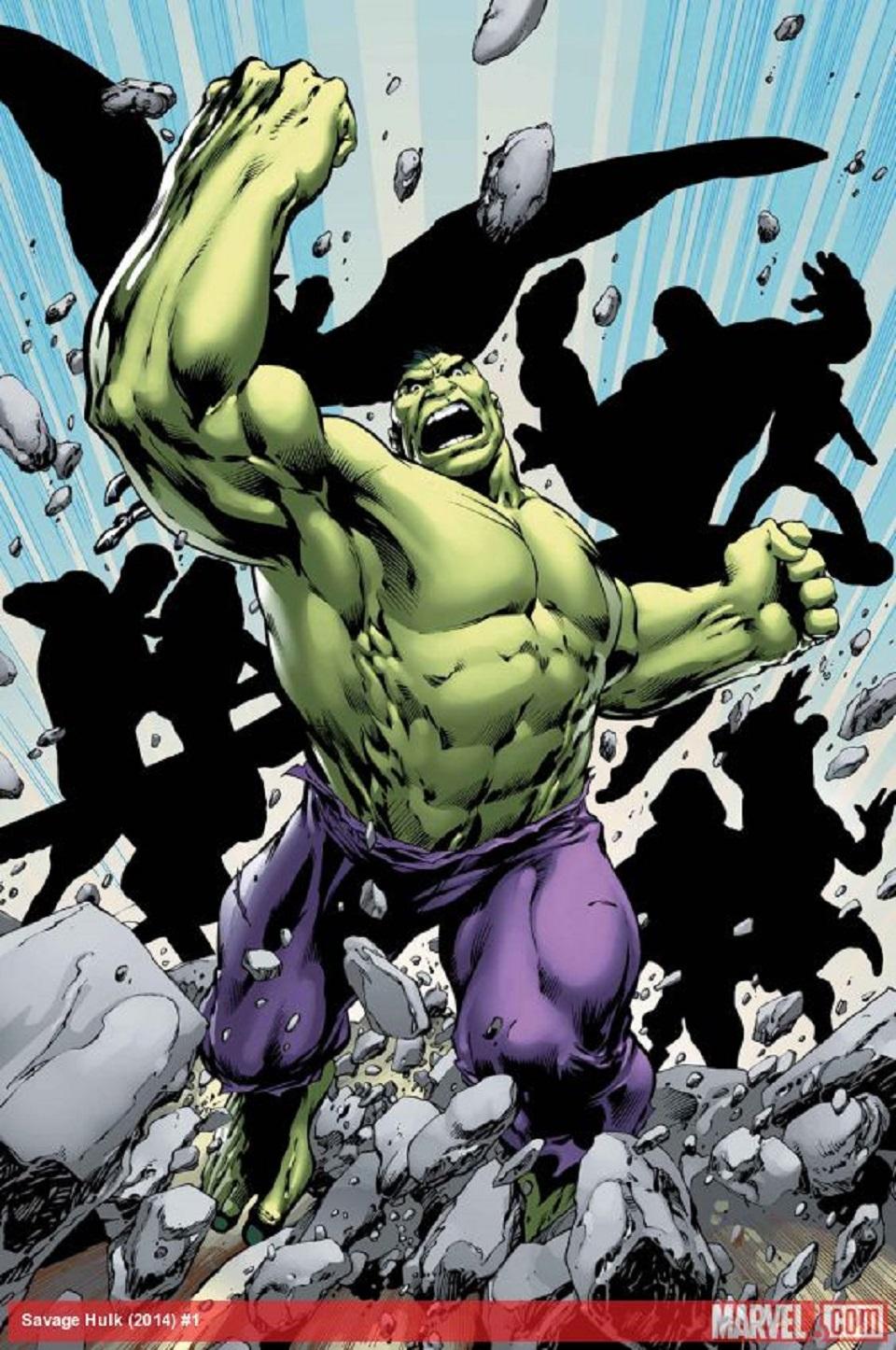 Savage Hulk 01