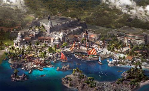disneyland shanghai pirataas