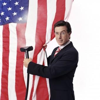 Stephen Colbert será o substituto de David Letterman