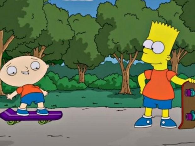 Simpsons Family Guy 01