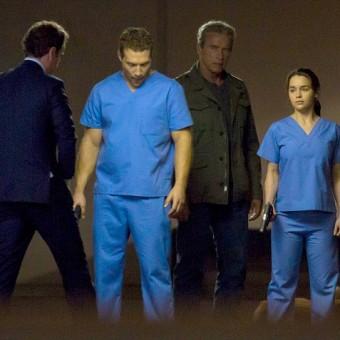 Sarah Connor aparece nas primeiras fotos dos sets de Terminator: Genesis