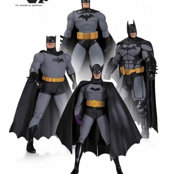 DC anuncia action figures do Batman para comemorar os 75 anos do personagem