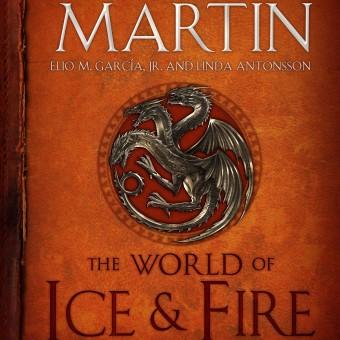 George R.R. Martin divulga a capa final da enciclopédia de As Crônicas de Gelo e Fogo