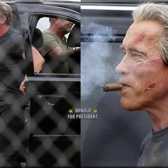 Veja mais algumas fotos dos sets de Terminator: Genesis