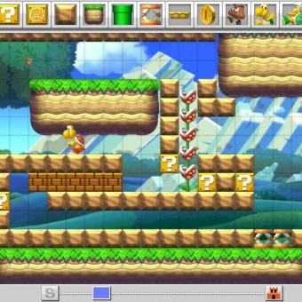 Crie suas fases de Mario no novo Mario Maker