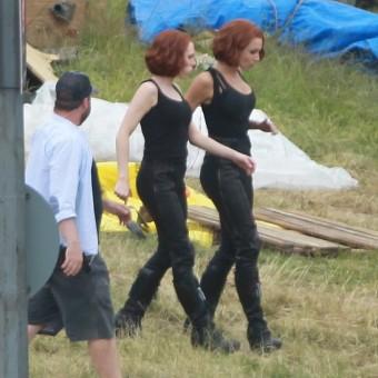 Mais fotos das filmagens de Os Vingadores 2 em Londres