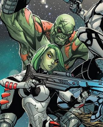 Drax e Gamora