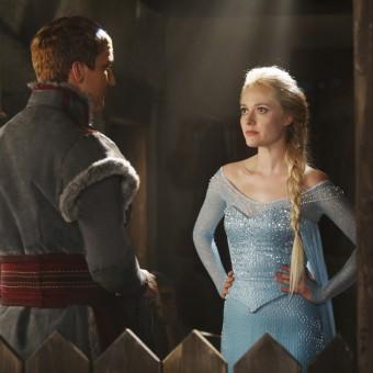 Veja novas imagens de Elsa e Kristoff em Once Upon a Time