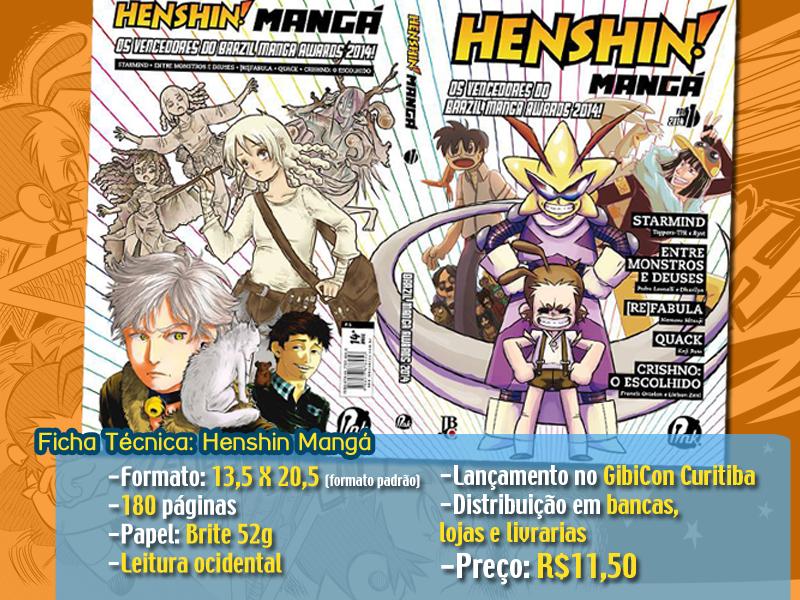 henshin manga