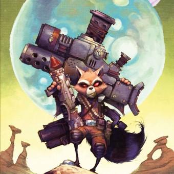 Marvel faz exibição particular de Os Guardiões da Galáxia para criador do Rocket Raccoon